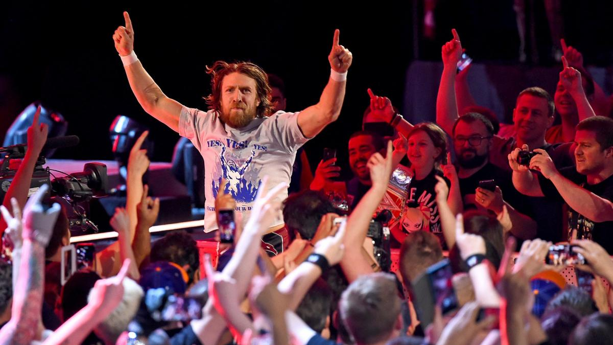 Happy 37th birthday, Daniel Bryan! How great is it to have this guy back in the ring?