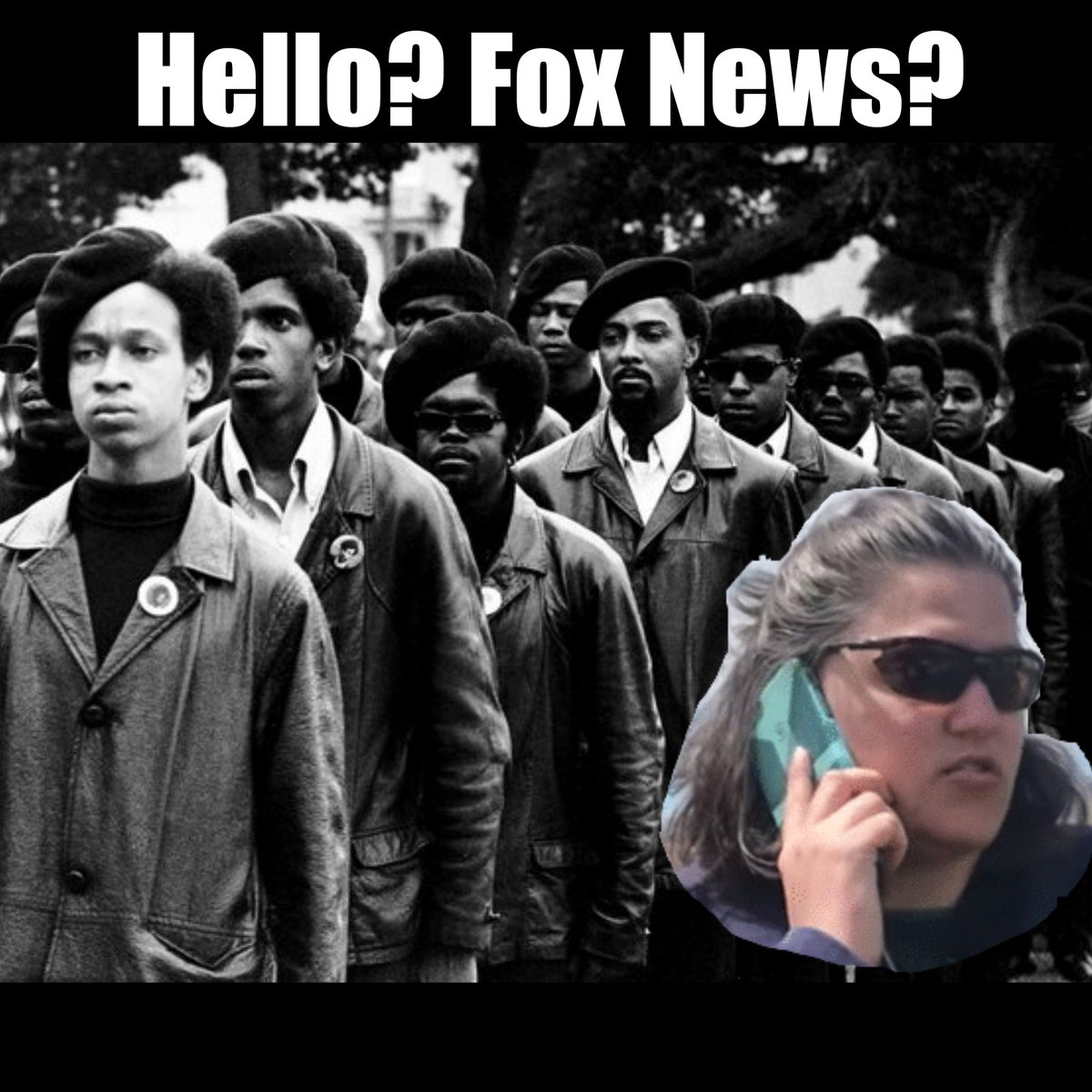 #BBQBecky and the #BlackPanthers <br>http://pic.twitter.com/c0l2tSZEL9