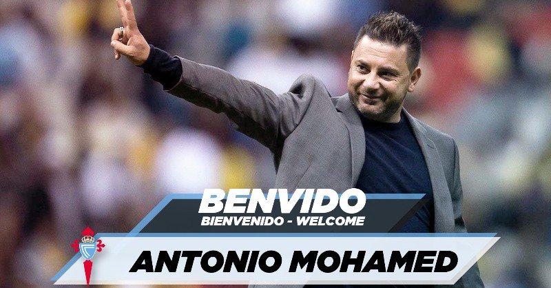 🚨 #ÚLTIMAHORA   Antonio Mohamed, NUEVO TÉCNICO del Celta para las dos próximas temporadas. #LaLiga