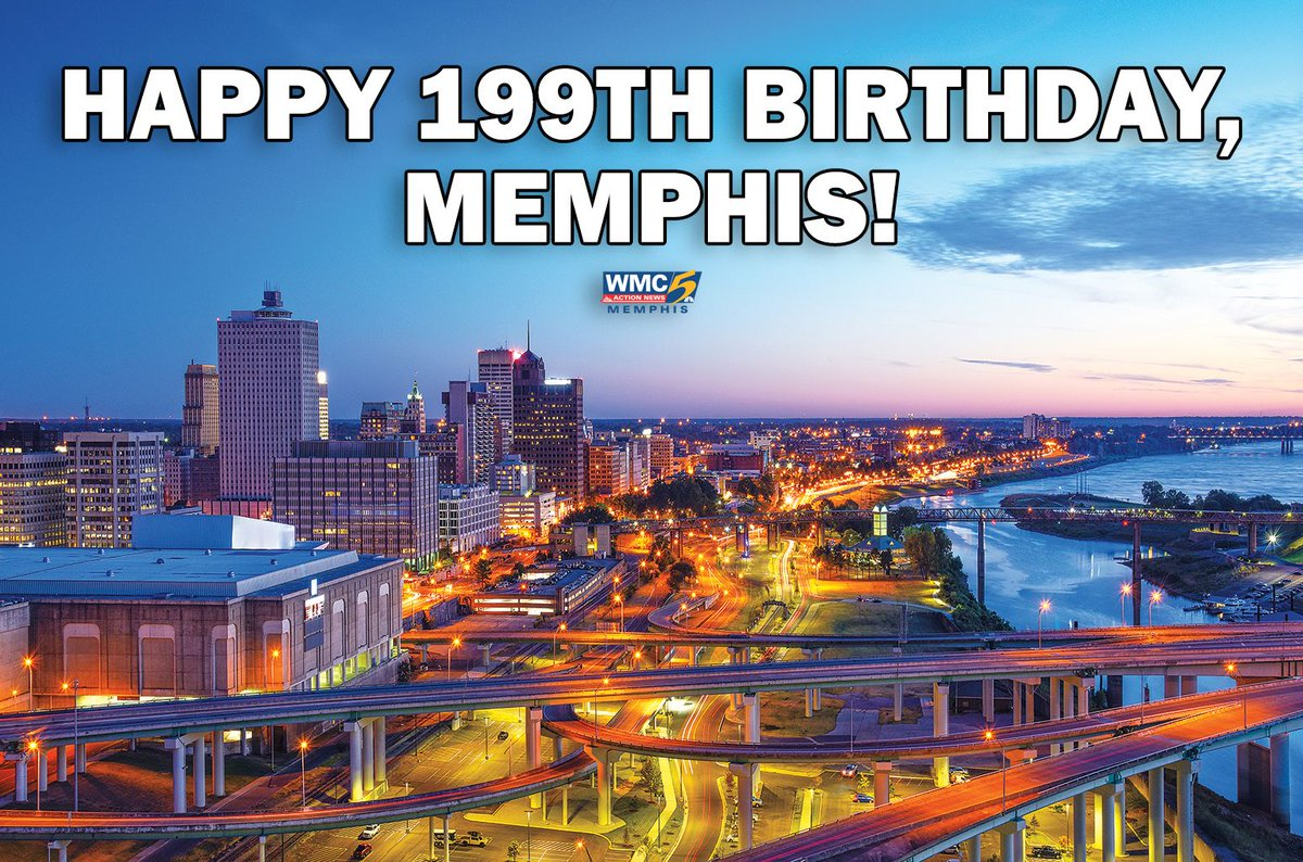 199 years ago, Memphis was founded...and we've been in love ever since. 😍