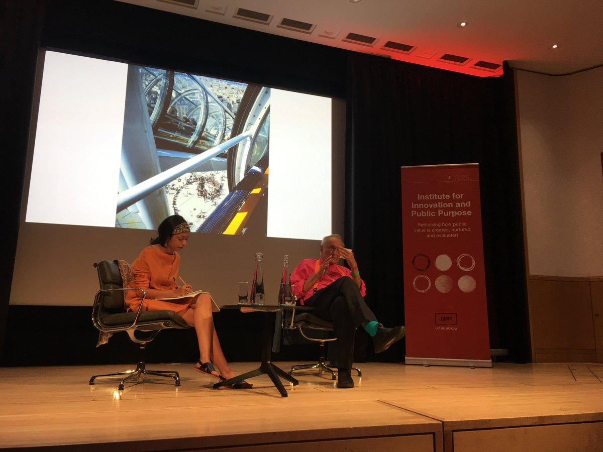 test Twitter Media - Richard Rogers talking to Shumi Bose about architecture, politics and public space at the @IIPP_UCL lecture series on Public Value at @britishlibrary https://t.co/6WUsYQmcQt https://t.co/7aT1osKUeO