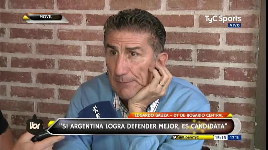 #TyCSportsMundial Patón Bauza en @LiberoTyC: Si Argentina logra defender mejor es candidato