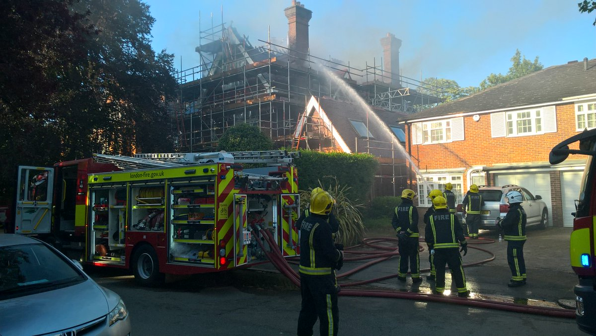 A loft conversion at a house under refurbishment in #Wimbledon was damaged in a fire #thisweek. Fortunately, no one was injured. https://t.co/OAPiMYBKIz