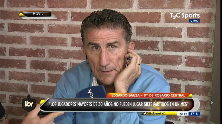 #TyCSportsMundial Patón Bauza en @LiberoTyC: Los jugadores mayores de 30 años no pueden jugar 7 partidos en un mes