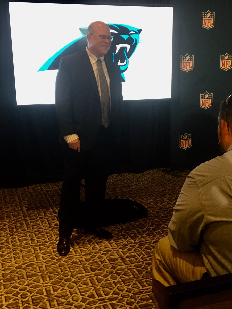 SALE APPROVED:  David Tepper on his three priorities coming in: 1.  Winning 2.  Winning 3.  Winning @wsoctv<br>http://pic.twitter.com/z4ebQ46fAu