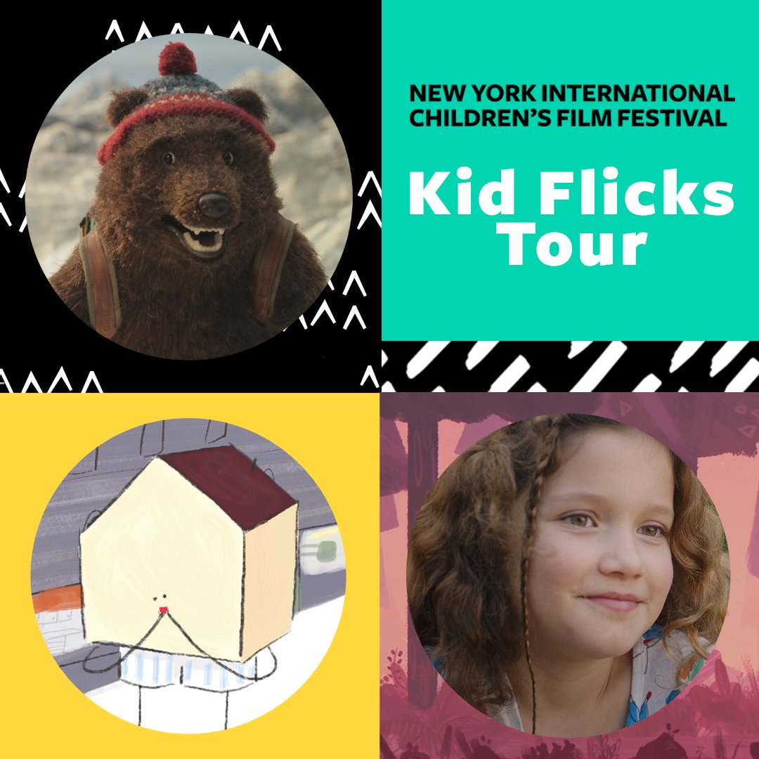Bring the best of this years Fest to a screen near you! 3 programs of award-winning and audience favorite shorts from the 2018 Festival are now available for nationwide booking through our KID FLICKS TOUR! See the lineup and learn more about booking here: bit.ly/2KMqUaw
