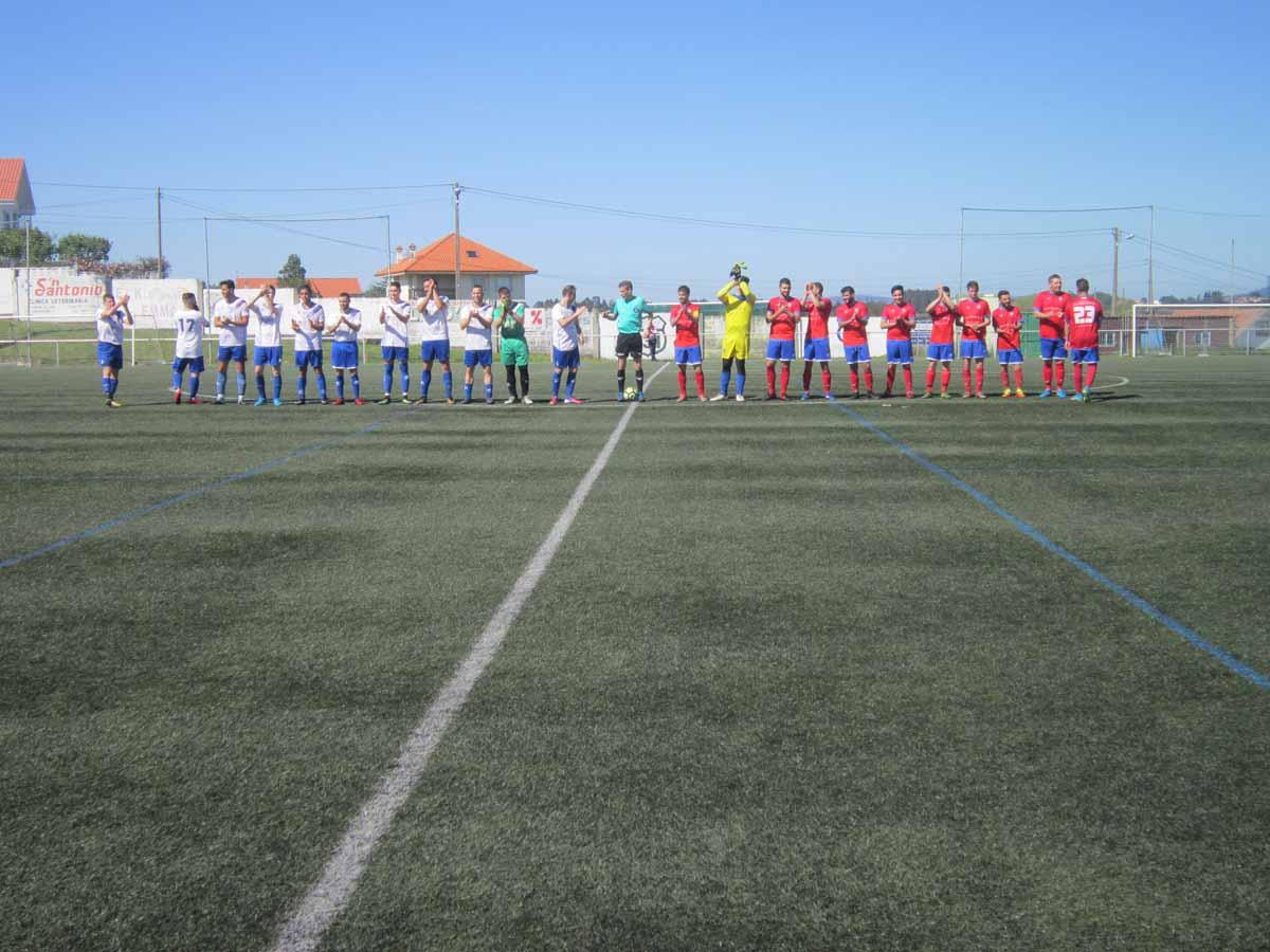 ADR Numancia de Ares. Aficionados 2017-2018. Previa Copa delegación Ferrol. Mandiá - Numancia.