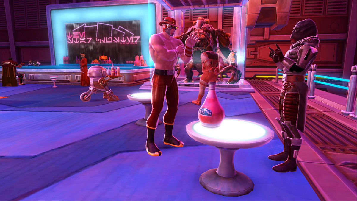Take a break from saving the galaxy and test your luck on the slot machines at the exotic Star Cluster and Club Vertica Casinos – Nar Shaddaa Nightlife festival is here! <br>http://pic.twitter.com/fqbsnfvmAI
