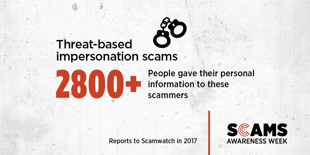 Did you know, emails with an attachment or a link to the details of bills, fines or undelivered parcels are commonly used to infect your computer with malware? Visit Scamwatch for more tips https://t.co/iS7FnxOeF3 #ScamsWeek18 #IsThisForReal https://t.co/PuatIPy3bh