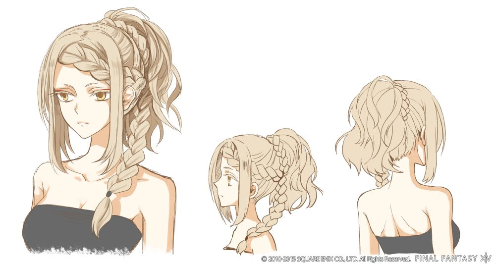 【FF14】今後プレイヤーに実装の可能性も?「髪型デザインコンテスト」の優秀賞作品がゲーム内のNPCに実装!:馬鳥速報
