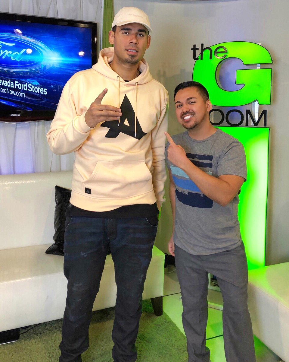 Thank you @afrojack for a fun interview today @MOREFOX5! So cool getting to meet you! Can't wait to hear your new music &amp; new artists  #EDC #EDCLV2018 #EDM #Afrojack @EDC_LasVegas @FOX5Vegas #DJ #DJLife #producer<br>http://pic.twitter.com/Phvgxs6tJ8