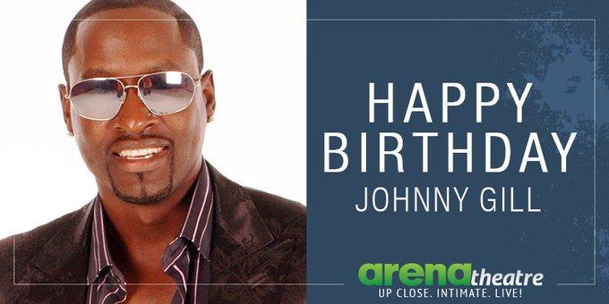 Happy birthday to singer Johnny Gill!