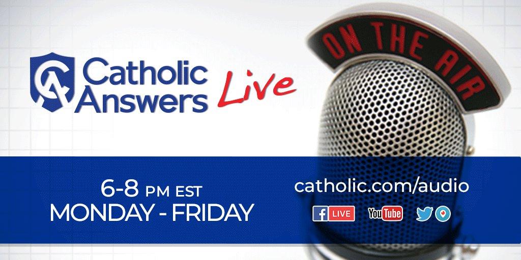 Catholic Answers on Twitter: