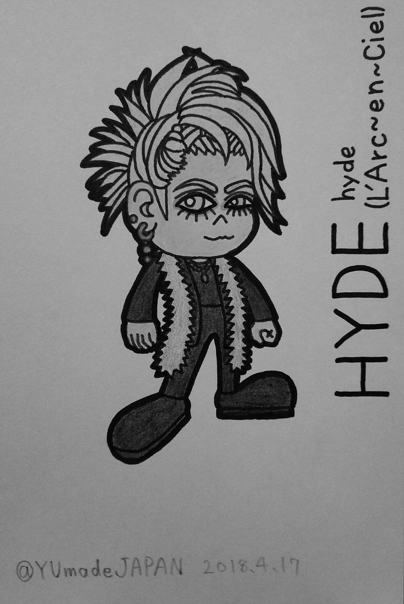 天咲宇象tenwarauzou On Twitter 私が描いたlarcencielの Hyde