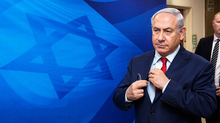 #Netanyahu evidently delighted with the US's latest ultimatum to #Iran https://t.co/U3ezoCBhSz