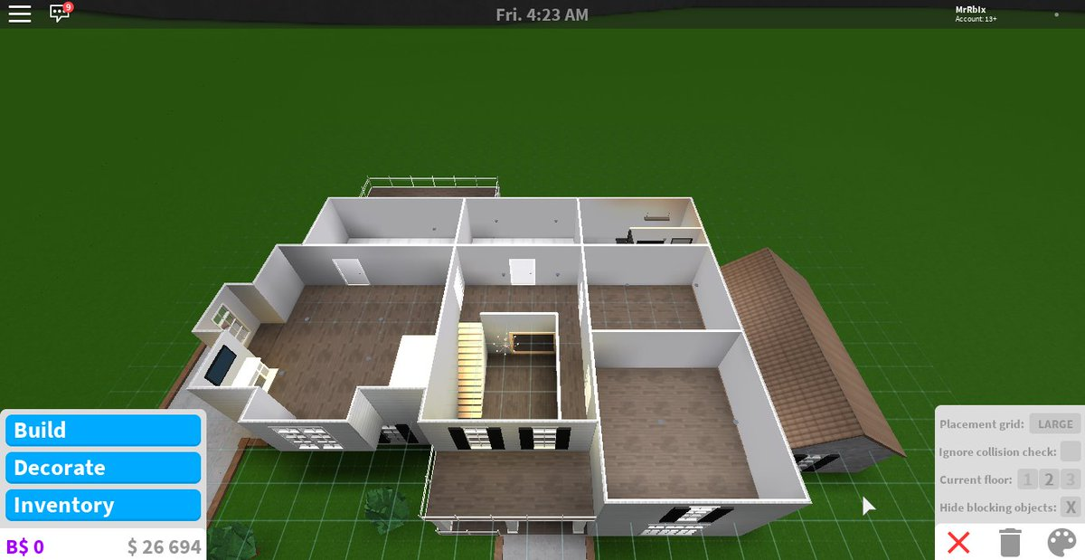 Mrrbix On Twitter Building A Nice Suburban Family Home For