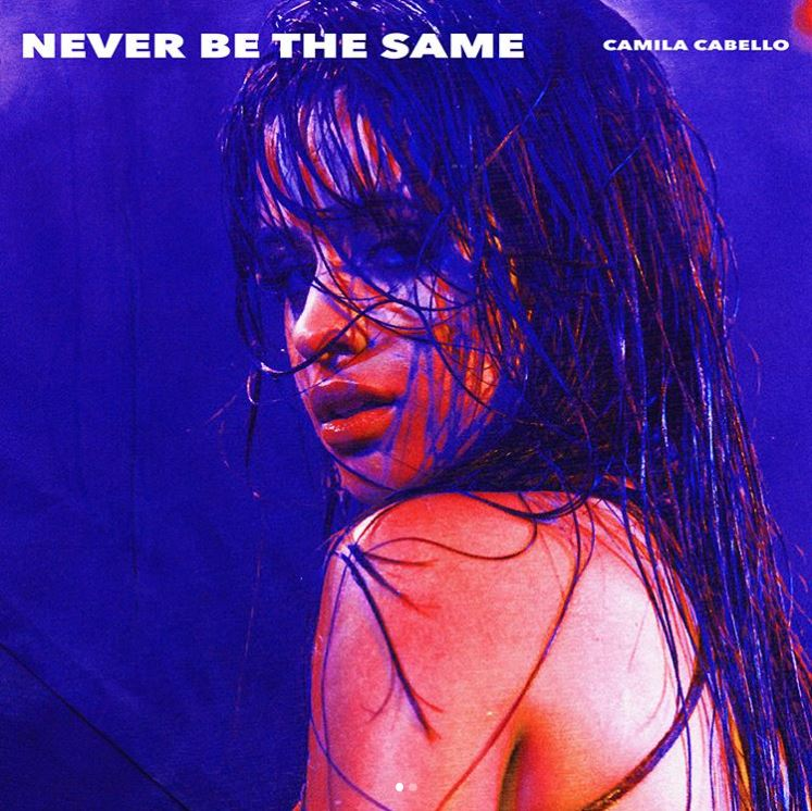 .@Camila_Cabello #NeverBeTheSame is your #2 song on #TrendingAt7 tonight! LISTEN LIVE: https://t.co/3DMwnr8Avl