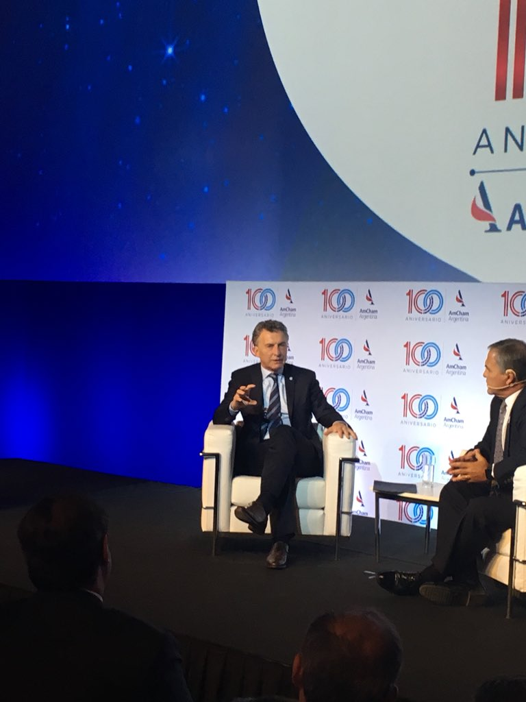 test Twitter Media - Celebrating @AmChamArgentina's 100 anniversary with the President of #Argentina Mauricio Macri. #100AñosAmCham https://t.co/04Bmfogb3Y