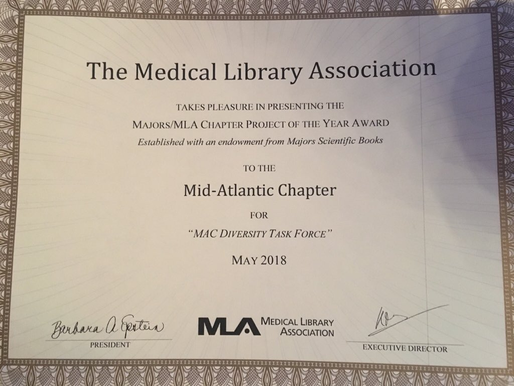 brenda linares on twitter proud to accept the majors mla chapter