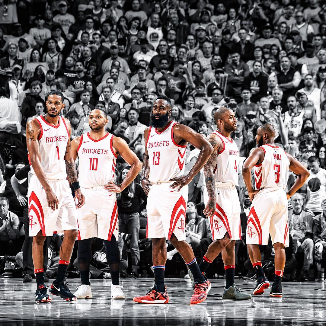 RT if you're ready to watch the �� back in H-Town for Game 5 on Thursday!  �� >> https://t.co/oa7ad2nlOe https://t.co/JLUgIcVhXZ