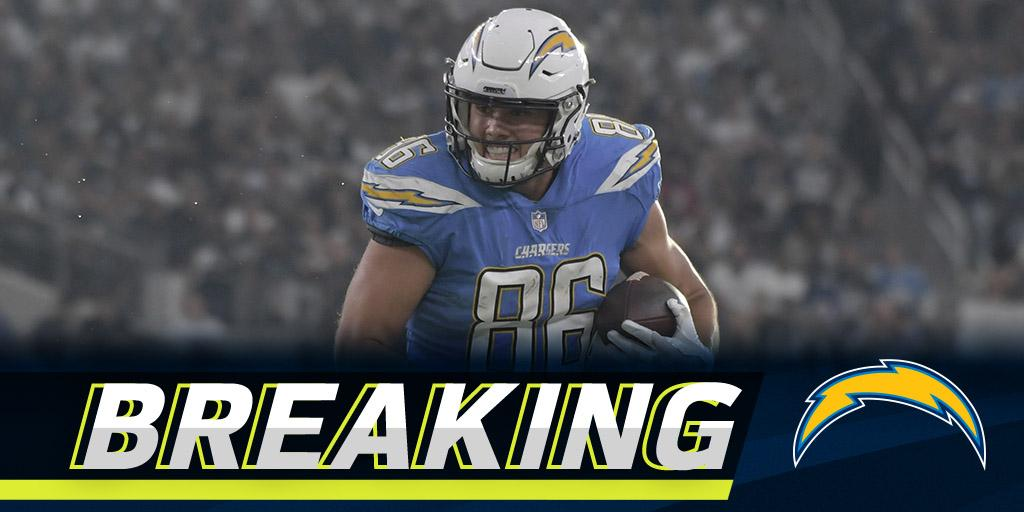 Chargers TE Hunter Henry believed to have torn ACL: https://t.co/UHvsXfrqA1 https://t.co/mc0eMz1oQS
