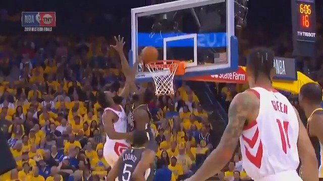 Harden's poster on Draymond Green is an all-time classic🔥