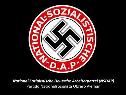Resultado de imagen para partido nacional socialista obrero alemán