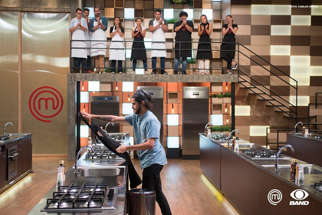 Um grande talento! O @HugoMChef marcou a nossa cozinha e agora segue na gastronomia, mas fora do #MasterChefBR.