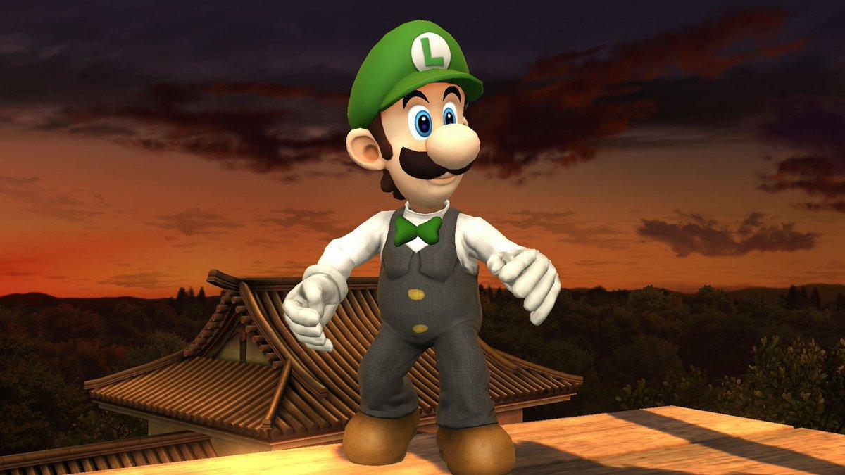 Luigi gambling