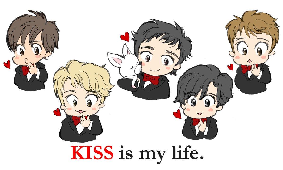 いわし雲 On Twitter Kiss Is My Life キスの日 イラスト