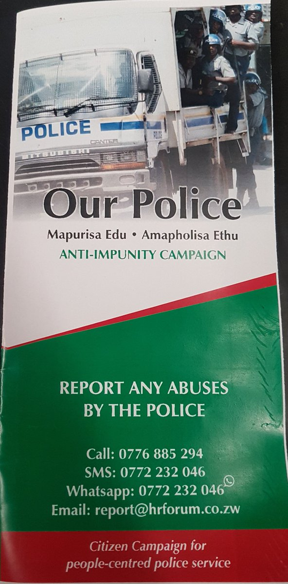 test Twitter Media - It is our police. @ZimHRNGOForum  all citizens are equal before the law #OurPoliceZW https://t.co/5HWrdiqu15