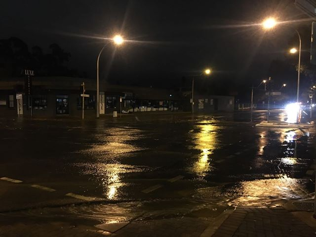 ABC Adelaide On Twitter A Water Main Burst Has Closed The
