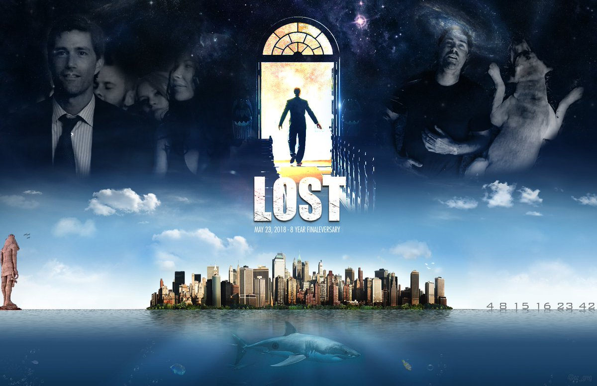 8 years ago today, Jack Shephard closed his eyes for the very last time, as the lights faded to black on screen (but not in our hearts), on the greatest story ever told.  Happy Finaleversary you all everybody! #LOST cc: @FuckYeahLOST <br>http://pic.twitter.com/mPixNTSpKX