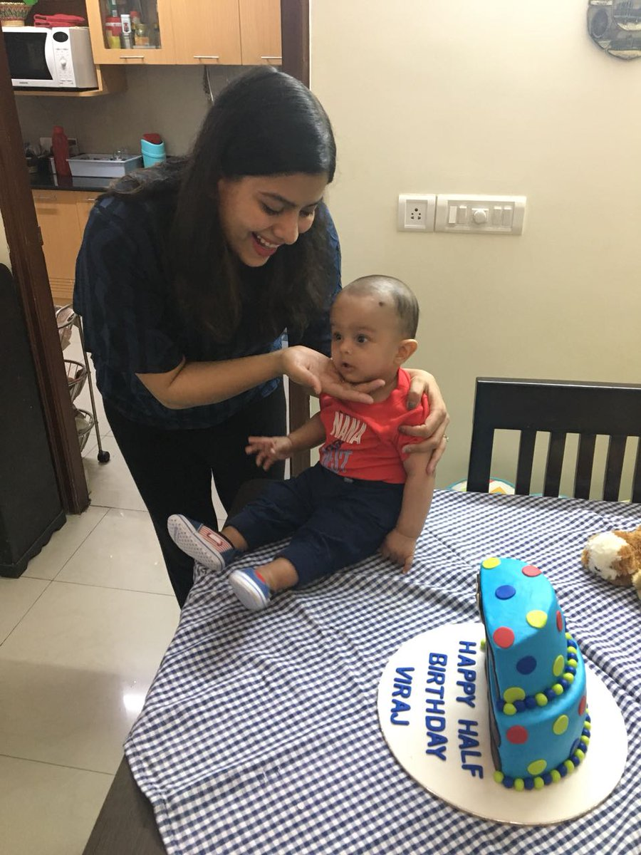 Groovy Miras Dial A Cake On Twitter Little Monkey Viraj Celebrated His Personalised Birthday Cards Xaembasilily Jamesorg