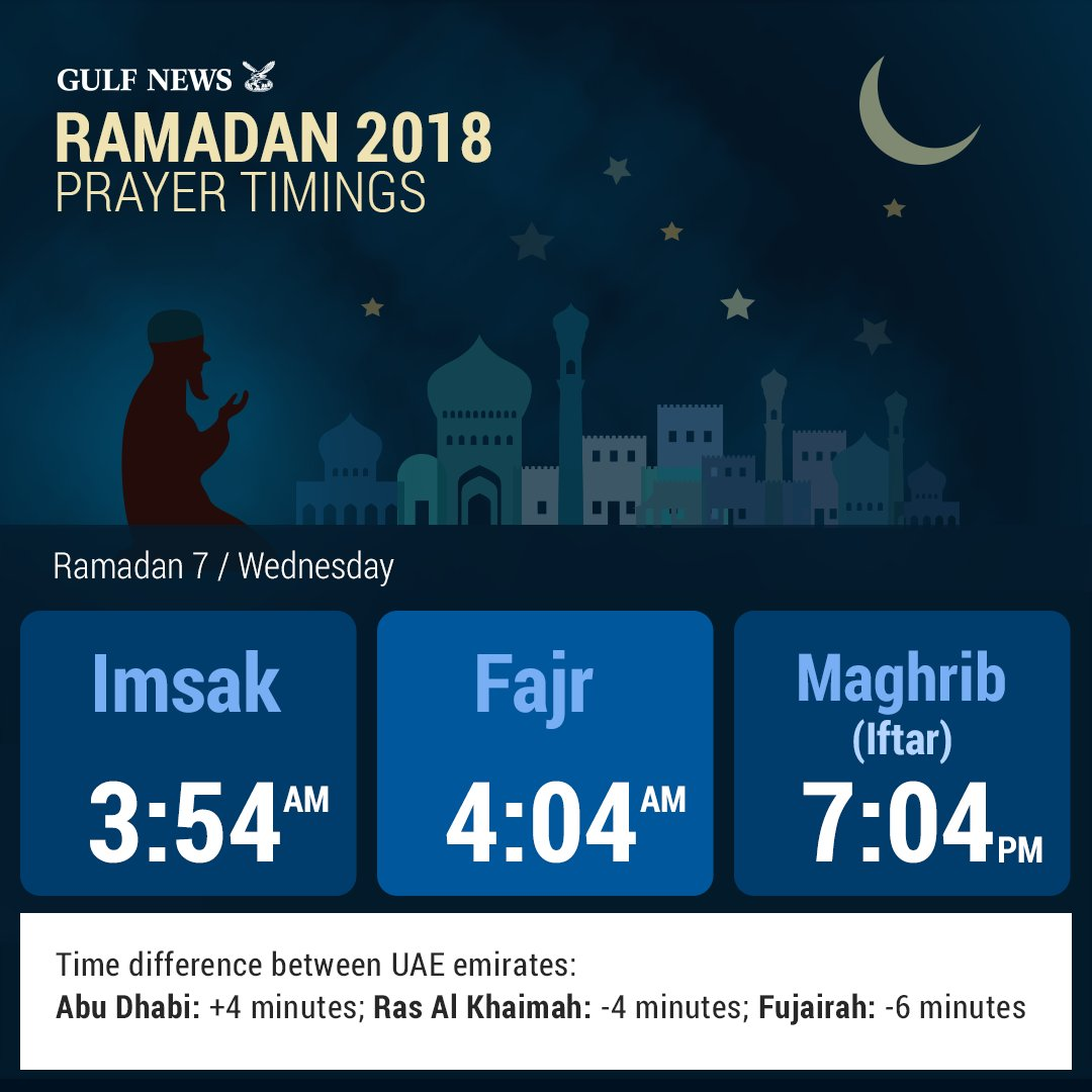 Here are today's iftar timings: https://t.co/i8hOu5HuEa