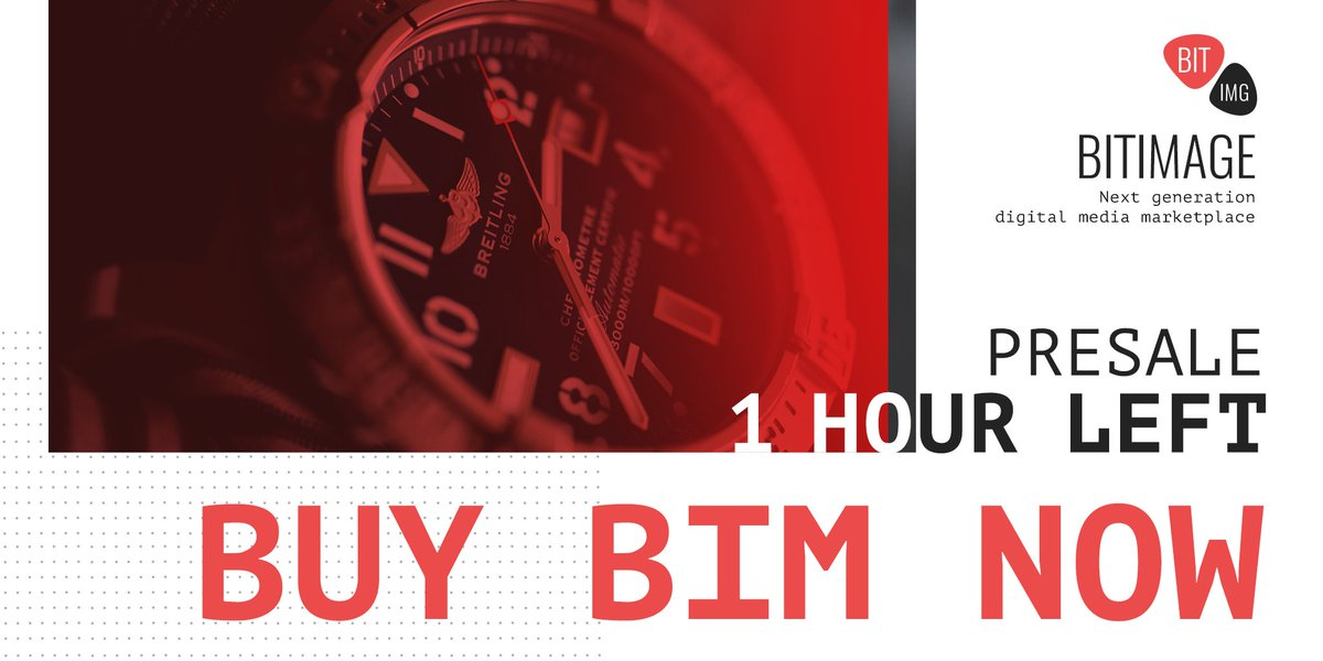 You have only 1 day more to buy all the BIM you want!  http:// bit.ly/BIMtokensale  &nbsp;    #BIM #presale #buytoken<br>http://pic.twitter.com/DWjN1aYJe5