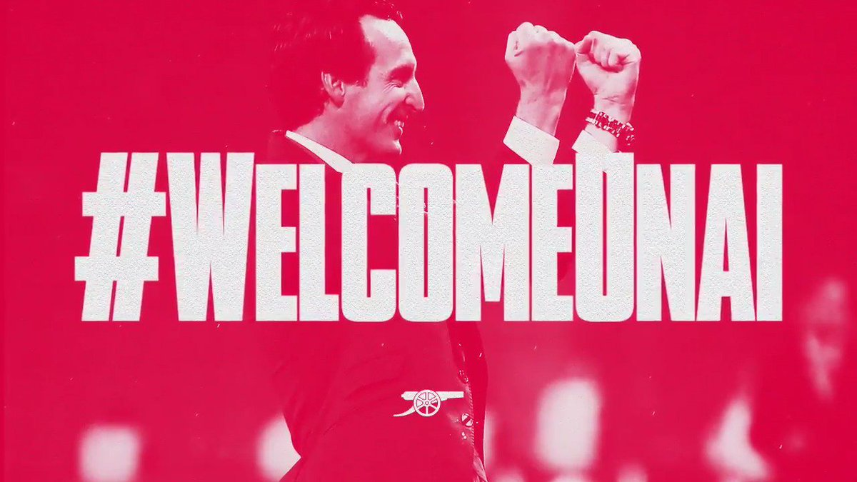 A new dawn. A new era. A new chapter.  #WelcomeUnai