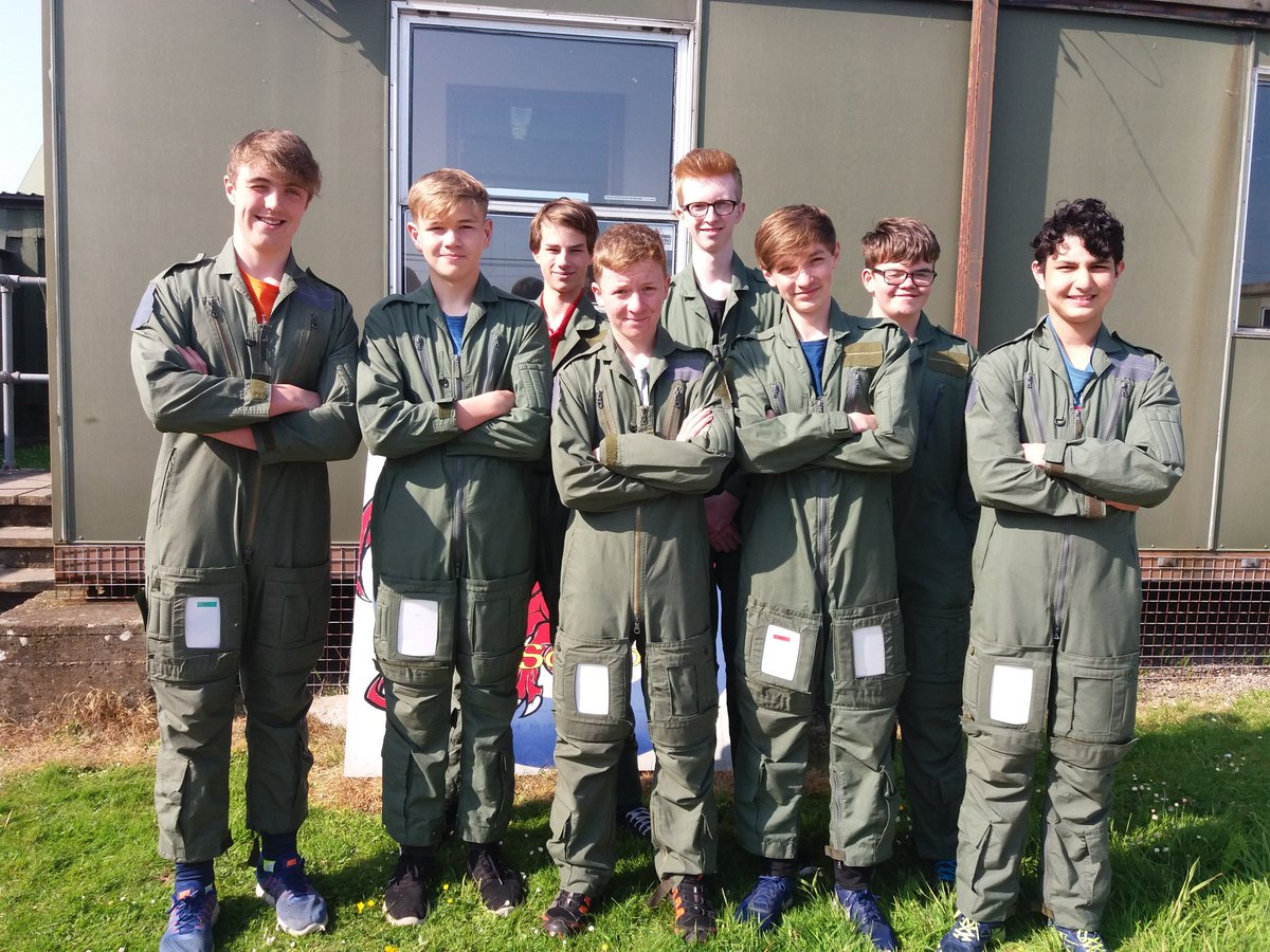 With the sound of skylarks, RAF cadets ready for #AEF flying at St Athan. <br>http://pic.twitter.com/V7HLKxCOmj