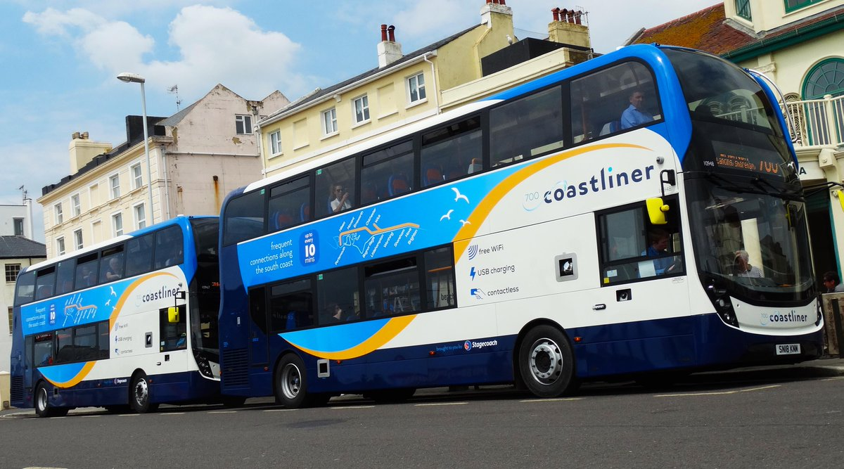 Stagecoach South On Twitter Earlier This Week We Launched A Fleet Of 30 New Buses For The Popular Coastliner 700 Route Between Littlehampton Worthing
