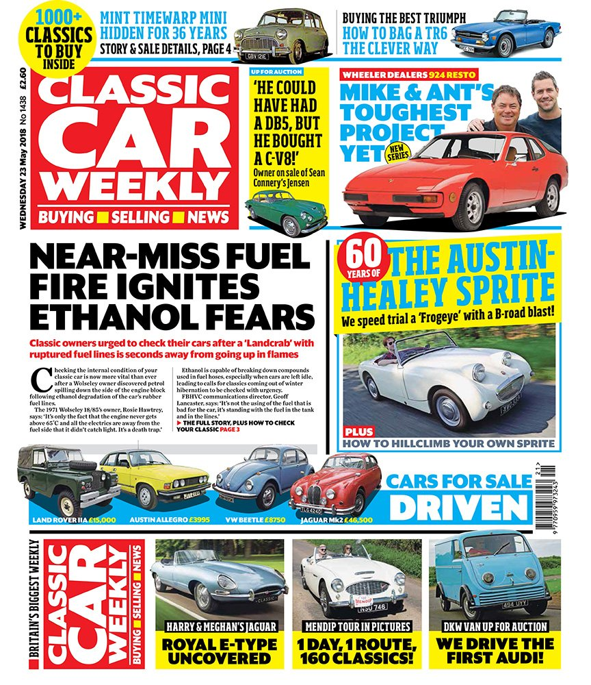 Classic Car Weekly On Twitter Austin Healey Frogeye Sprite At 60