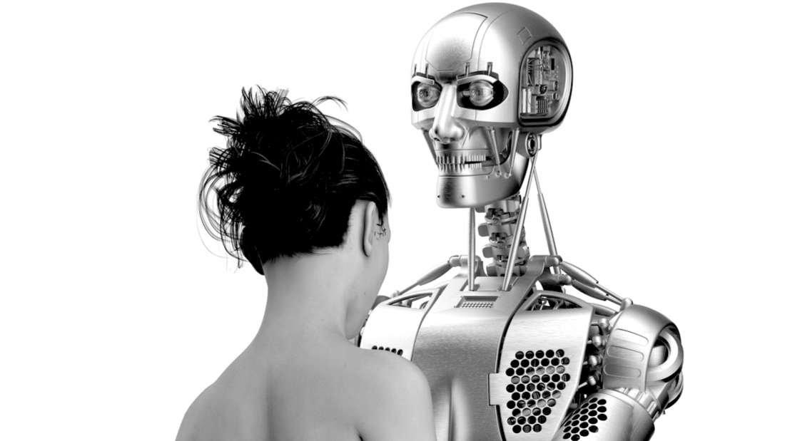 Robot sex man