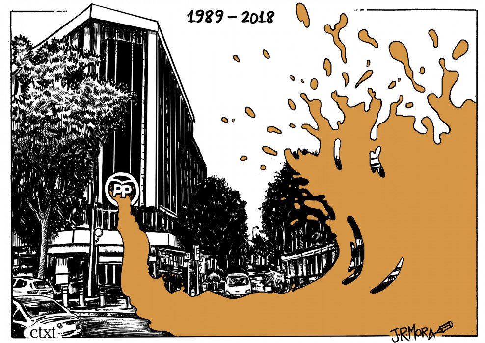 El @JRMora de hoy: Partido Popular, una historia de corrupción #corrupciónPP bit.ly/2J27X6l