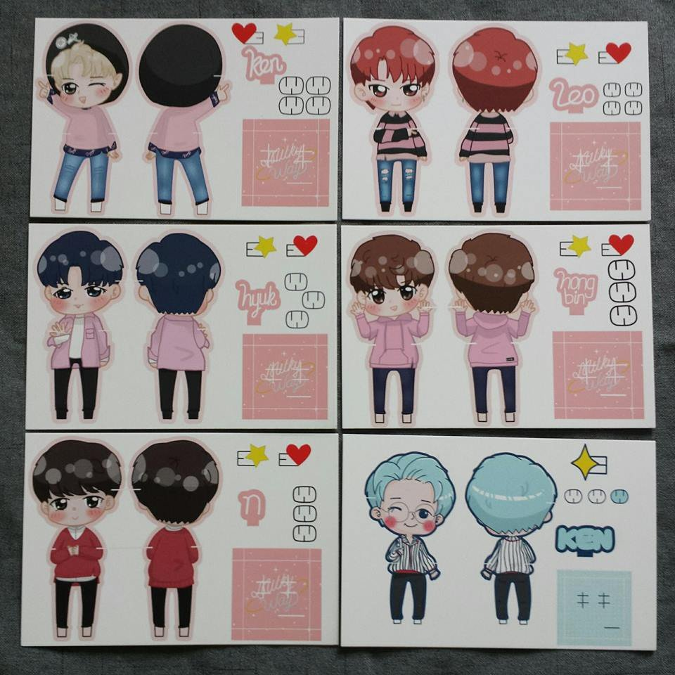 VIXX 6TH ANNIVERSARY GIVEAWAY   - Starlights only. - Like and Retweet  - Reply this tweet with your name, country, bias - Hashtag #VIXX6thANNIVERSARY  - Worldwide  TWO lucky winners for a random set of vixx fanart standee!  Ends on 30 June (bcos it&#39;s hakyeon&#39;s birthday )<br>http://pic.twitter.com/JcDqu8vCz2