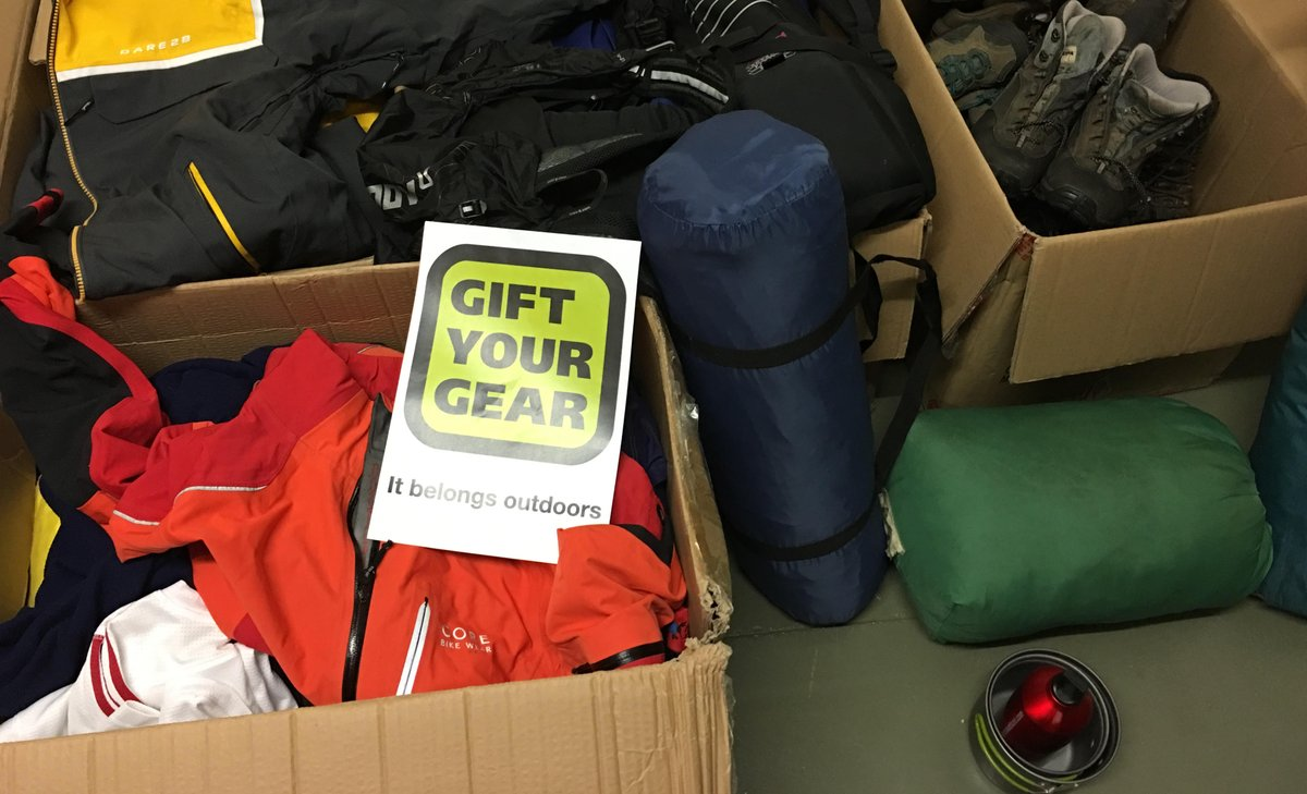 Gift Your Gear on Twitter: