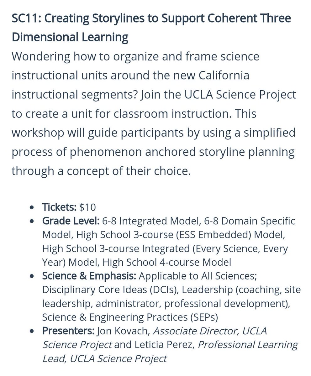 ucla science project on twitter going to cascience 2018 in rh twitter com