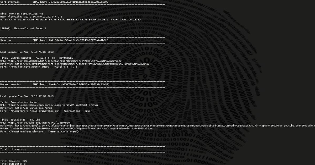 #Dumpzilla - Extract All #Forensic Interesting Information Of #Firefox, #Iceweasel And Seamonkey #Browsers goo.gl/XyT6U4