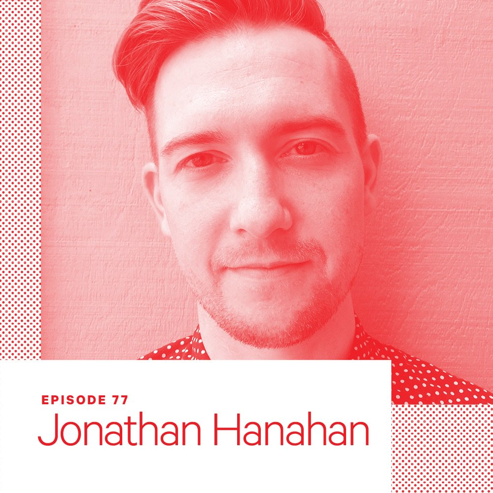 On this week's episode, I talk to designer, artist, and educator @jnthnhnhn about thick interfaces, teaching digital design, and how he almost became an architecture critic!  http:// scratchingthesurface.fm/post/174168027 070/77-jonathan-hanahan &nbsp; … <br>http://pic.twitter.com/YbskcFkDZl