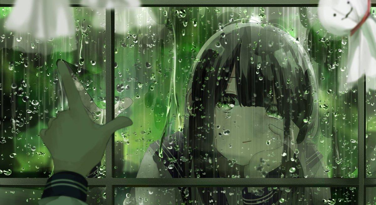 最高のイラスト画像 最新かっこいい 綺麗 雨 イラスト
