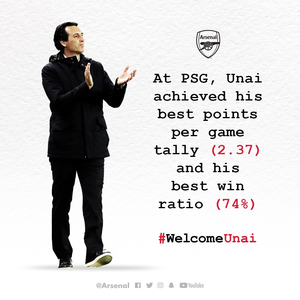 #WelcomeUnai https://t.co/hQv5zeb4oG