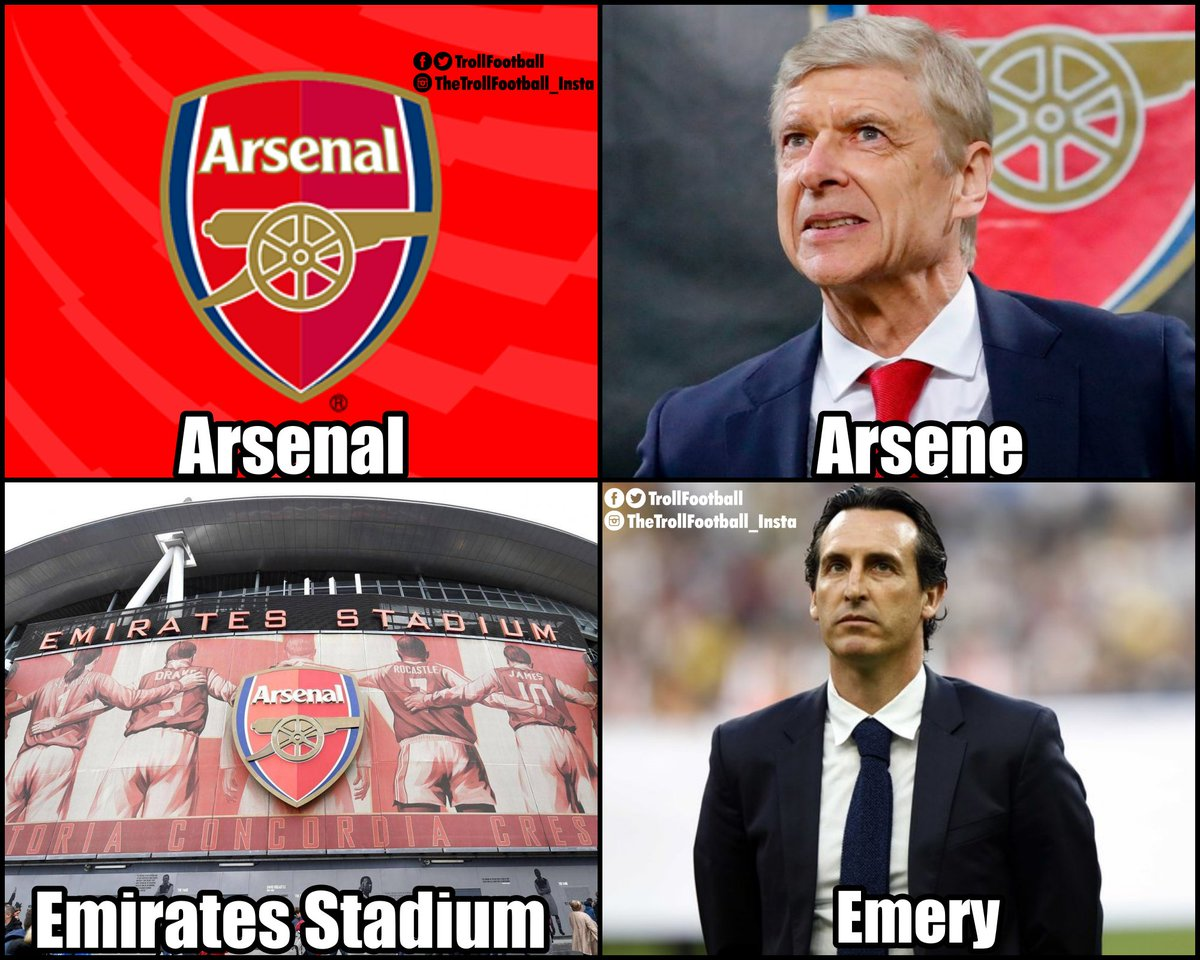 Arsenal&#39;s recruitment policy for managers<br>http://pic.twitter.com/E3yOr5bXzz